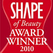 "Description: ""Best Whitener"" Award from SHAPE"